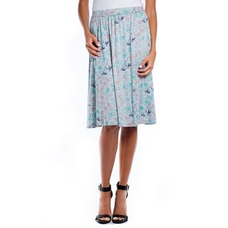 DownEast Basics Women's Field of Flowers Skirt
