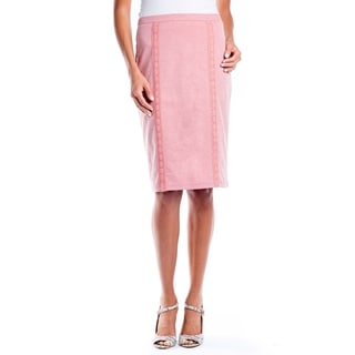 DownEast Basics Women's Heathered Pencil Skirt