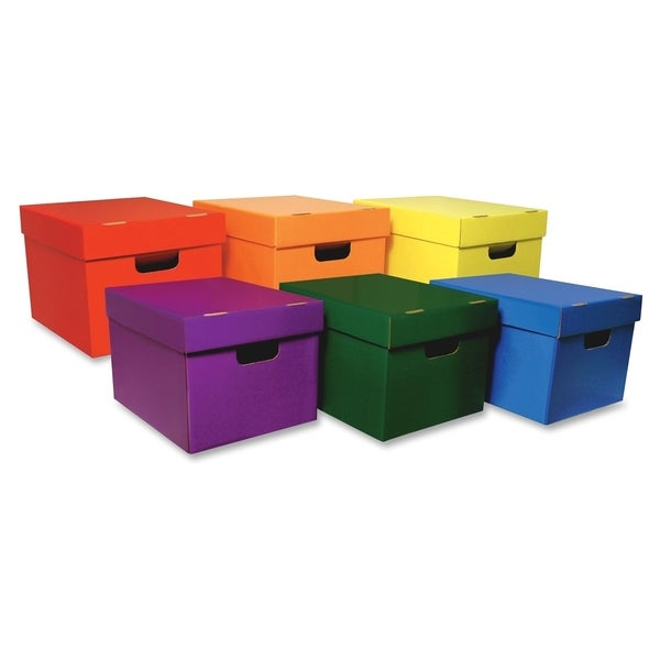 Classroom Keepers Storage Tote Assortment - 6/PK
