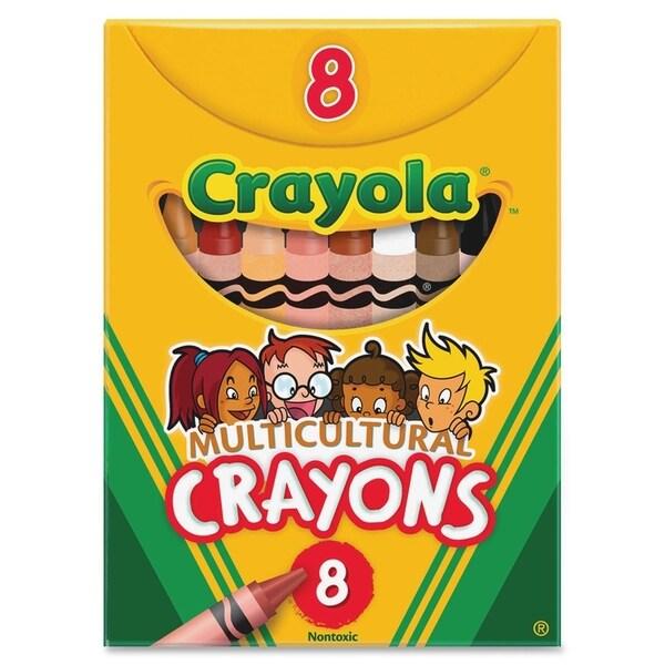 Crayola Multicultural Crayons - 8/BX