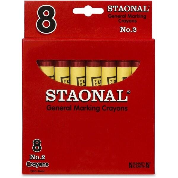Crayola Staonal Marking Crayon - 8/BX