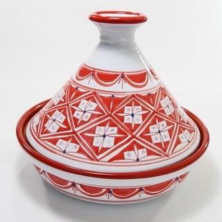 Cookable Tagine-30 - Nejma Design, by Le Souk Ceramnique (Tunisia)