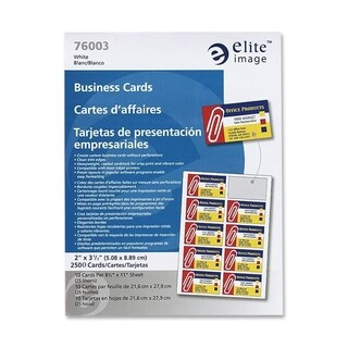Elite Image Business Card - Box of 2500