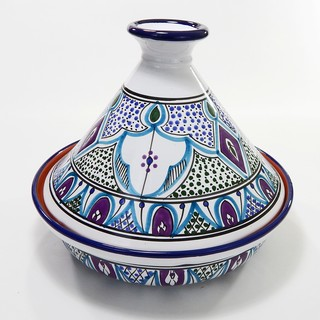 Cookable Tagine-30 - Malika Design, by Le Souk Ceramnique (Tunisia)