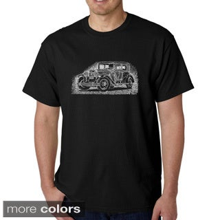 Men's Los Angeles Pop Art Mob Car T-shirt