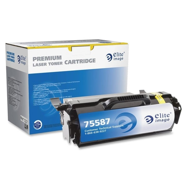 Elite Image Remanufactured High Yield MICR Toner Cartridge Alternative For Lexmark T65x (T650H21A) - 1 Each