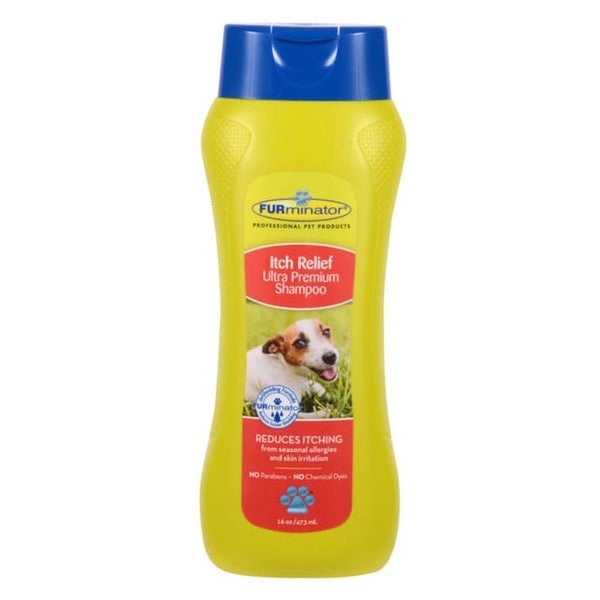 FURminator Itch Relief Ultra Premium Shampoo For Dogs