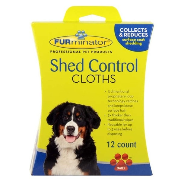 FURminator Shed Control Cat Cloths