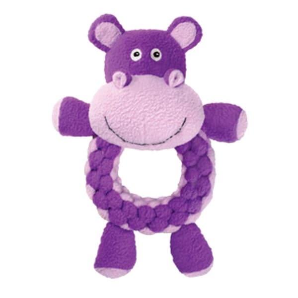 Kong Large Round Braidz Hippo
