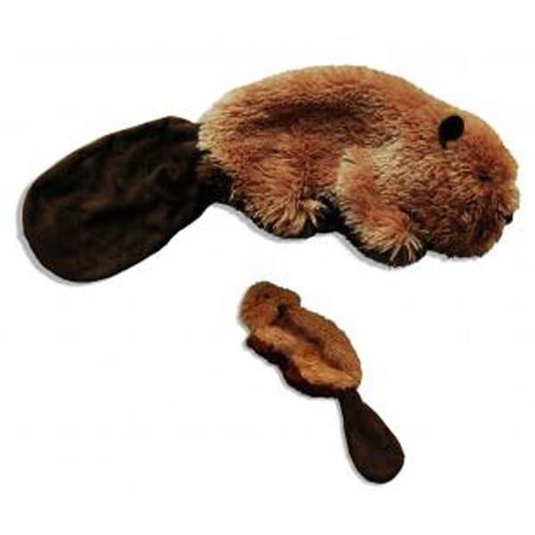 Kong Plush Beaver Dog Toy