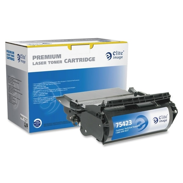 Elite Image Remanufactured MICR Toner Cartridge Alternative For Lexmark Optra T Series (12A5845) - 1 Each