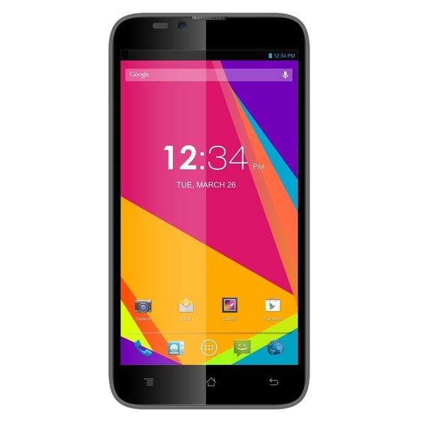 BLU Dash 5.5 D470u Unlocked GSM Certified Refurbished Cell Phone - Grey
