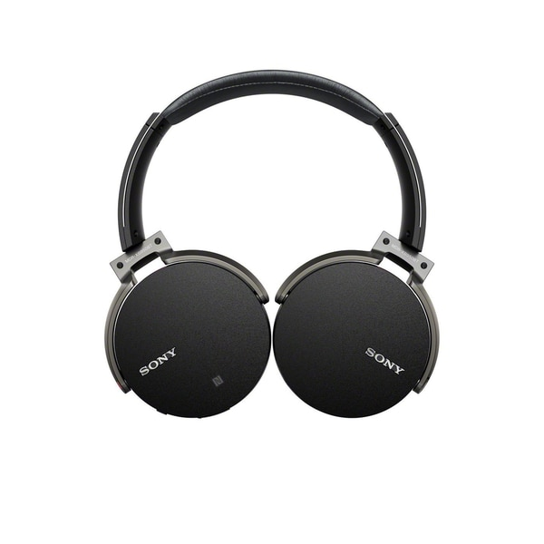 Sony - Extra Bass Wireless Over-the-Ear Headphones - Black MDRXB950BT/B