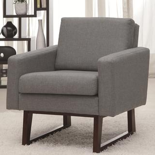 Soho Grey Modern Living Room Accent Chair