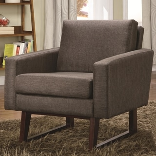 Soho Brown Modern Living Room Accent Chair