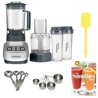 Cuisinart BFP-650 Blender/Food Processor with Travel Cups + Accessory Bundle