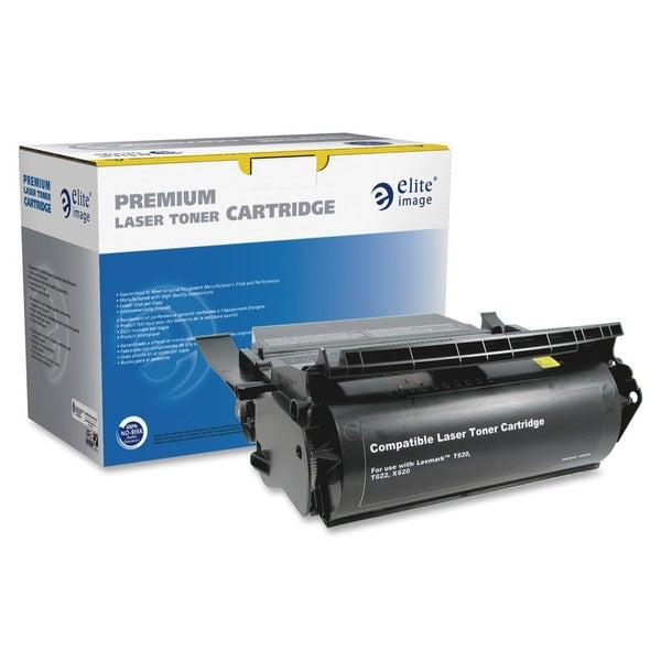 Elite Image Remanufactured High Yield Toner Cartridge Alternative For Lexmark T620 (12A6865) - 1 Each