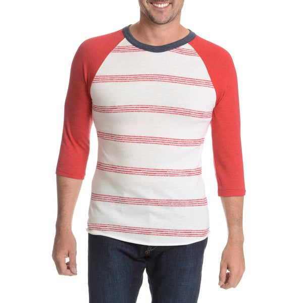 Alternative Men's 3/4 Sleeve Raglan Shirt