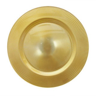 Sunray Gold 12-inch Charger