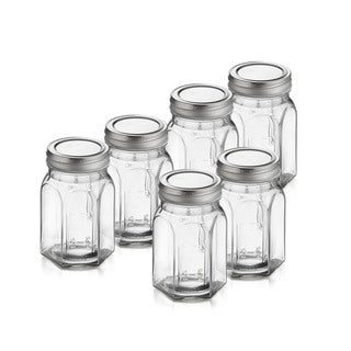 Classic Ocatagon Canning Jars (Set of 6)