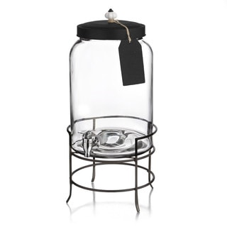 Franklin 3-gallon Beverage Dispenser with Tag