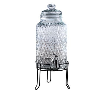 Quilted 1.5-gallon Beverage Dispenser