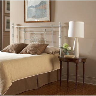 Fashion Bed Group Lafayette Metal Headboard Panel with Traditional Grill Castings