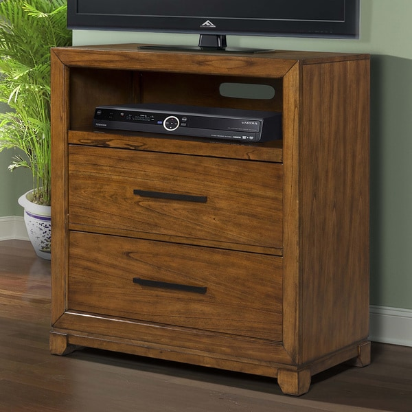Macy 2-drawer Media Chest