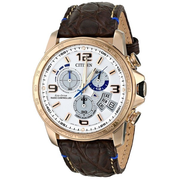 Citizen Men's BY0103-02A Stainless Steel Radio Controled Atomic Chronograph Watch