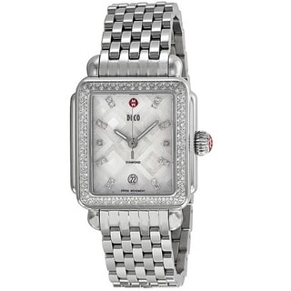 Michele Women's MWW06T000069 'Deco' Stainless Steel Watch