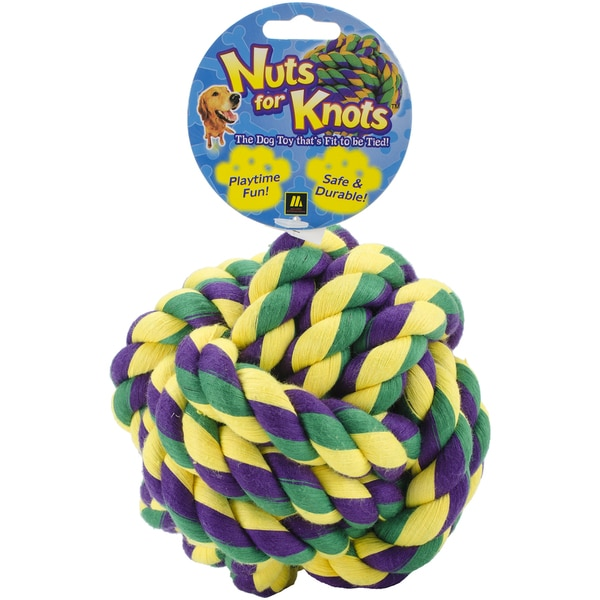 Multipet Nuts For Knots Dog Toy 5in