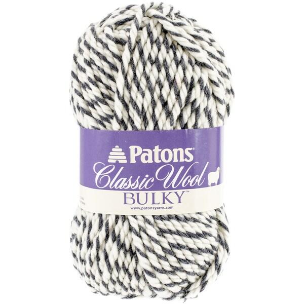 Classic Wool Bulky Yarn-Dark Grey