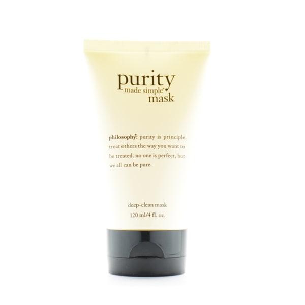 Philosophy Made Simple Deep Clean Mask