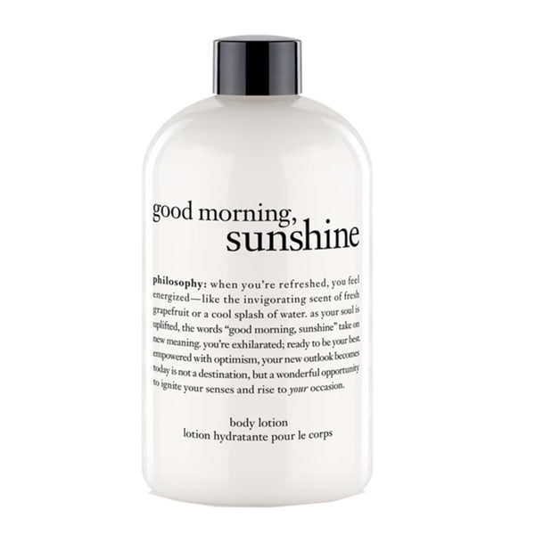 Philosophy Good Morning Sunshine Body Lotion