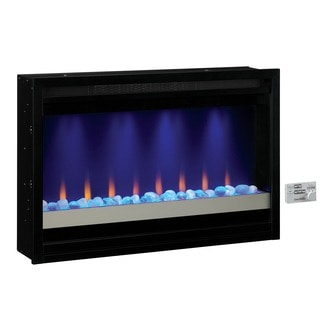 ClassicFlame 36EB111-GRC 36-inch Contemporary Built-in 120 volt Electric Fireplace Insert