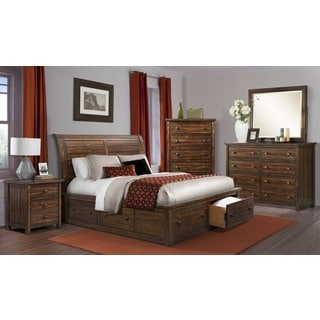 Davenport Storage 5-piece Bedroom Set