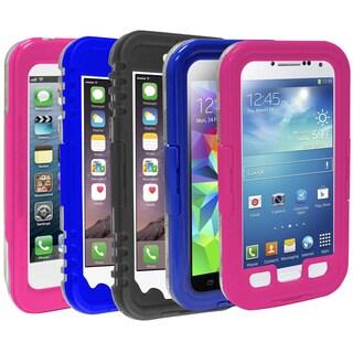 Rebelite Splash Series Weatherproof Phone Case for Samsung Galaxy S4/ 5 and Apple iPhone 5/ 6/ 6 Plus