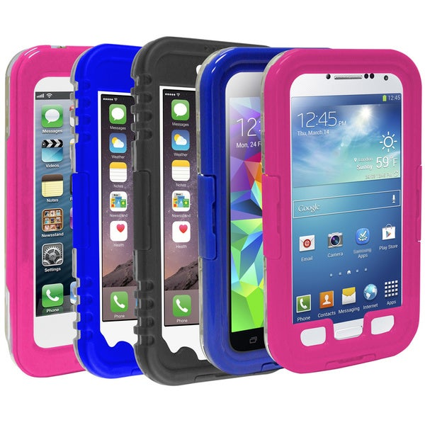 Rebelite Splash Series Weatherproof Phone Case for Samsung Galaxy S4/ 5 and Apple iPhone 5/ 6/ 6 Plus