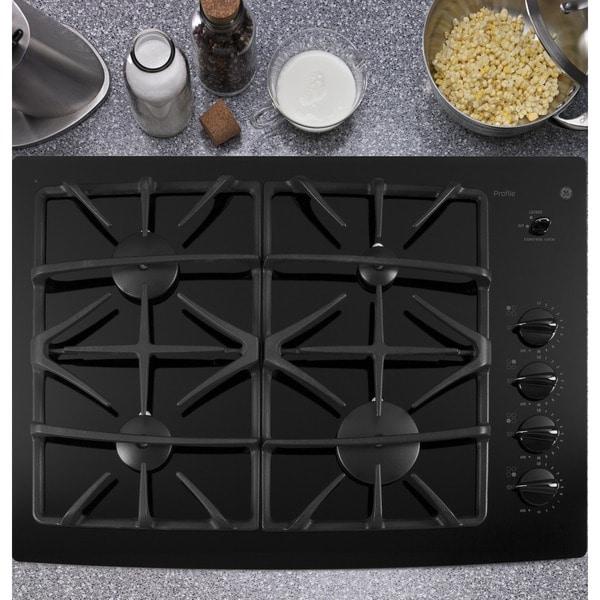 viking natural gas cooktops