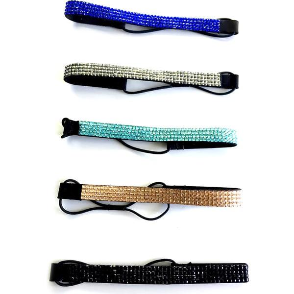 Beach Glam Rhinestone Headbands (China)
