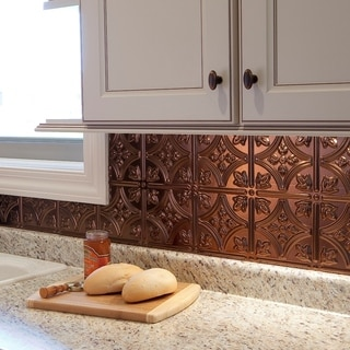 Fasade Traditional 1 Oil Rubbed Bronze Backsplash 18-inch x 24-inch Panel