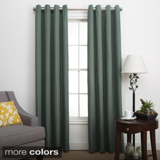 Canvas Grommet Curtain Panel Pairs