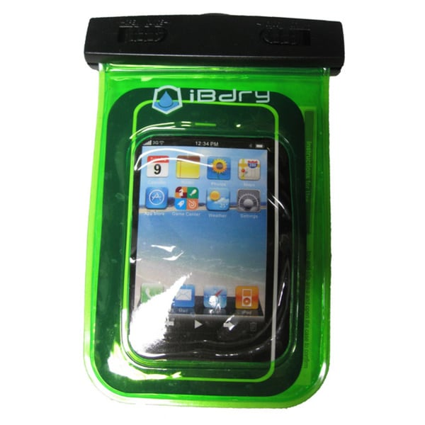 iBdry Waterproof Soft Case for Cell Phones and MP3 Players
