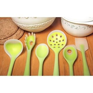 Kitchen Utensil Set Green 6-piece Set