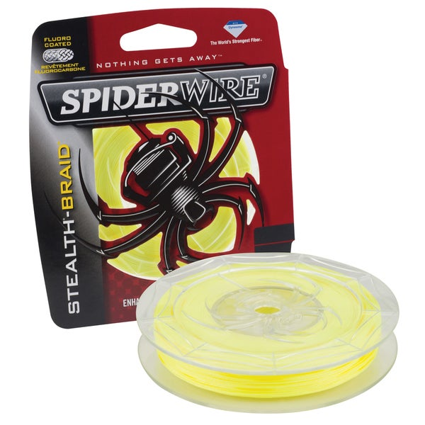 Spiderwire Stealth Braid Hi-Vis Yellow 10-pound 300 Yards