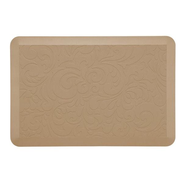 comfort co anti fatigue kitchen mat walnut 2 39 x3