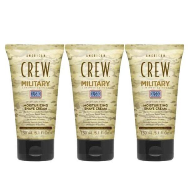 American Crew Military Edition 5.1-ounce Moisturizing Shave Cream (Pack of 3)