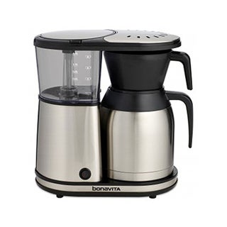 Bonavita BV1900TS New 8-cup Coffee Brewer with Stainless Steel Lined Thermal Carafe