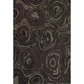 Hand-Tufted Abstract Pattern Paloma/Fungi Wool (2x3) Area Rug