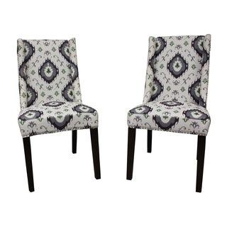 Mock Wingback Natural Palace I-Kat Dining Chair (Set of 2)